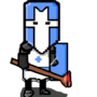 Pixelated Castle Crasher by Bloodman101