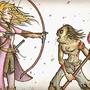 elf and goblin showdown