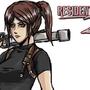 RE2 Claire by Shadowblackfox