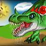 Tyrannosaurus Yoshi by EnvythisRoadRunner