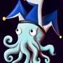Jester Octopus. by JackDCurleo
