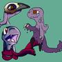 BirdSkull Squonk by Lumavis