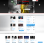 Dark and Red Web Template by Painkiller87