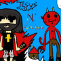Jesus N' Satan by XxSoapSlingerxX