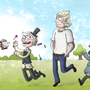 Regular Show - Humanized Race by ZeTrystan