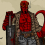 Hellboy by HankMoler