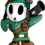 Military Shy Guy by foxfinity