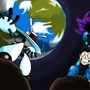 Galaxy Man Space Battle! by MylesAnimated
