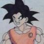 Paper Goku #1 by Kostou