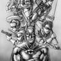 Batman and Robins by Soyjoykim