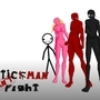 Stickman Can't Fight by guitan11