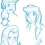 Anime - manga practice by EnvythisRoadRunner