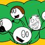 The Stickmen's Show Characters by rubinho146