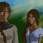 Naomi and Miola by GamerTheory