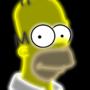 Neon Homer by Ellittest