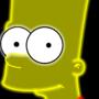 Neon Bart by Ellittest