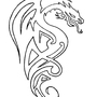 Dragon - tattoo design by Jo-Holding
