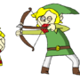 Link and Lucas by HoodedCobra