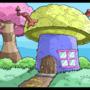 mushroom house by jellyfishboy