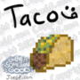 16-Bit Taco Rotating by WaldFlieger