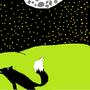 the black wolf by allisonwolf2