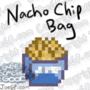 16-Bit Nacho Chip Bag Rotating by WaldFlieger