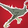 Chickensaurus Rex by Kritzmire