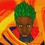black saiyan flame thingy by Alsnowman