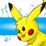 Pikachu Setember ATC by Kinsei