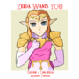 Zelda Recruit Poster by SonicSoul