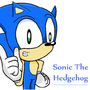 Sonic The hedgehog by mastersonic3