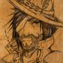 Doodle Cowboy by Eggabeg