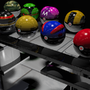Pokeball Table by BlazingEclipse