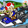 Mario Kart Commission by Bobfleadip