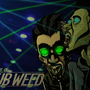 Bass adventures of GunDub Weed by WackWacko