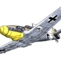 Me-109 F4 by Safronov