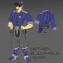 Captain Nathan Blackholm by Hisares-Sama