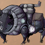 steam rhino by lenkobiscuit