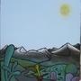 Away (eyeT Story #10, acrylic) by Esn