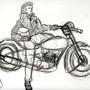 50's Biker punk by geoxen