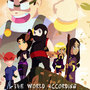 WorldAccordingToNINJA Poster by SOMNIUMANIMATION