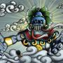 Almighty TLALOC by 4TAKEN