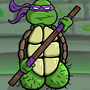 Donatello dick by Rennis5