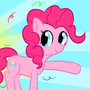 Pinkie Pie doing Pinkie Things by hjhkbn