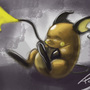 Raichu Speed painting by Xapul