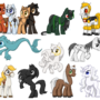 My famous Ponies by TariC