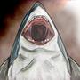 Shark Attack by Gatho