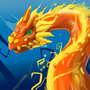 Flame dragon by VIZg