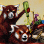 REDPANDAPARTY by Johannek
