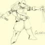 Kormac the Templar: GLORIOUS! by Gnomophiliac